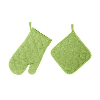 Set mănușă și șervet termic Unimasa, verde bonami.ro