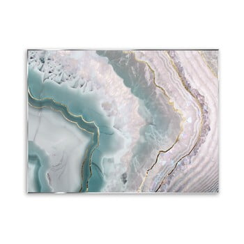 Tablou Styler Green Agate, 121 x 81 cm imagine