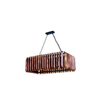 Lustră din lemn de carpen Siesta 5li imagine