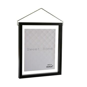 Ramă foto suspendată VERSA, pentru fotografii 20 x 25 cm, negru poza bonami.ro