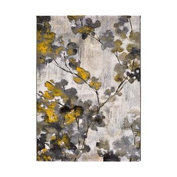 Covor Universal Bukit Mustard, 160 x 230 cm, galben - gri imagine