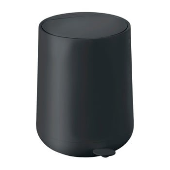 Coș de gunoi cu pedală Zone Nova, 5 l, negru bonami.ro