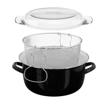 Vas friteuză Premier Housewares, 5 l, negru bonami.ro