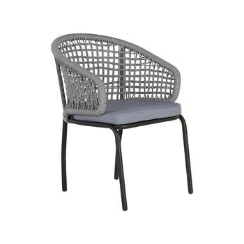 Set 2 scaune de gradina Monobeli Ibiza, gri