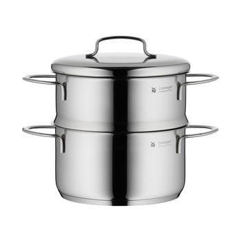 Oală din oțel inoxidabil pentru gătit la aburi, cu capac, WMF Cromargan® Mini, ⌀ 16 cm poza bonami.ro