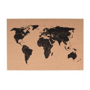 Avizier PT LIVING World, 60 x 40 cm poza bonami.ro