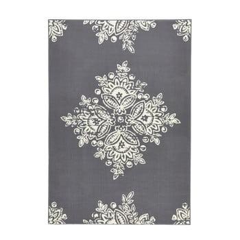 Covor Hanse Home Gloria Blossom, 200x290cm, gri alb imagine
