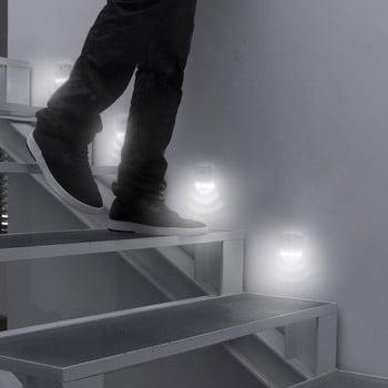Set 2 LED-uri cu senzori de mișcare InnovaGoods bonami.ro