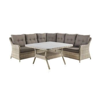 Set mobilier de grădină cu masă Geese Alessia poza bonami.ro