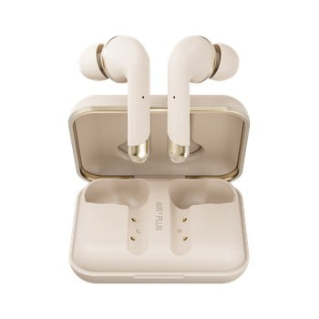 Căști wireless Happy Plugs Air 1 Plus In-Ear, auriu imagine