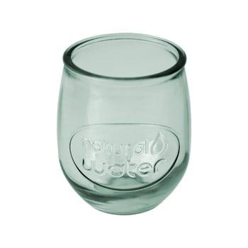 Pahar din sticlă reciclată Ego Dekor Water, 400 ml, verde deschis poza bonami.ro