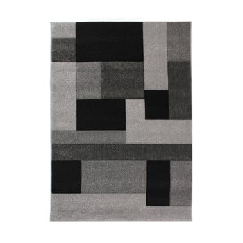 Covor Flair Rugs Cosmos, 160 x 230 cm, negru - gri imagine