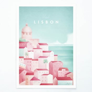 Poster Travelposter Lisbon, A2 bonami.ro