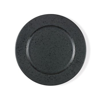 Farfurie din gresie ceramică Bitz Basics Black, ⌀ 27 cm, negru poza bonami.ro