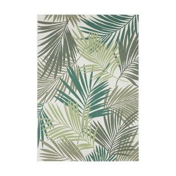 Covor de exterior Bougari Vai, 160 x 230 cm, verde - gri imagine