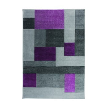 Covor Flair Rugs Cosmos Purple, 160 x 230 cm, gri-mov imagine