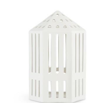 Felinar din ceramică Kähler Design Galleria, înălțime 18,5 cm, alb poza bonami.ro
