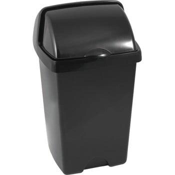 Coș de gunoi Addis Roll Top, 31 x 30 x 52,5 cm, negru bonami.ro