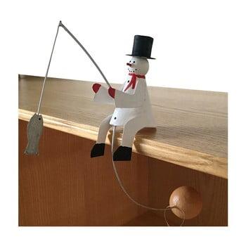 Decorațiune pentru Crăciun G-Bork Snowman Balance poza bonami.ro