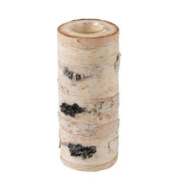 Sfeșnic din lemn masiv de mesteacăn J-Line, înălțime 25 cm poza bonami.ro
