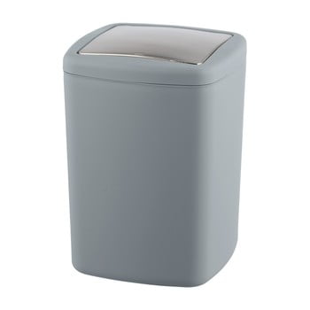 Coș de gunoi Wenko Barcelona L, înălțime 28,5 cm, gri bonami.ro