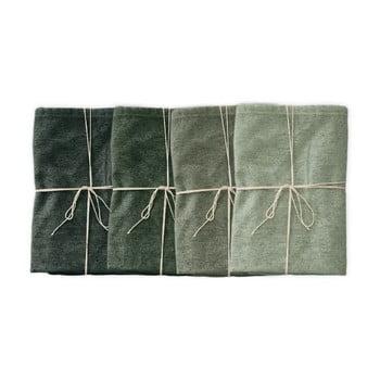 Set 4 șervețele textile Linen Couture Green Gradient, lățime 40 cm bonami.ro