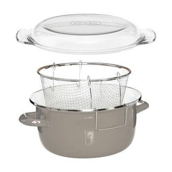 Friteuza Premier Housewares Deep Fryer, gri bonami.ro