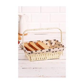 Coș pentru pâine din salcie împletită Logan Anabelle, 30x20x9cm bonami.ro