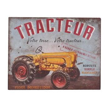 Tăbliţă decorativă Antic Line Tracteur bonami.ro