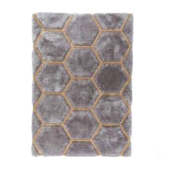 Covor Flair Rugs Honeycomb, 120 x 170 cm, gri imagine