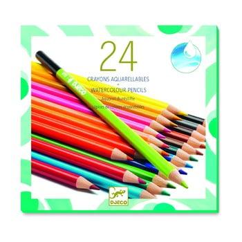 Set 24 creioane colorate Djeco bonami.ro