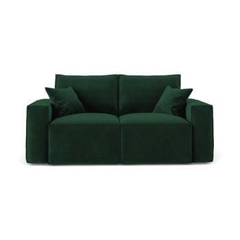 Canapea Cosmopolitan Design Florida,180 cm, verde închis bonami.ro