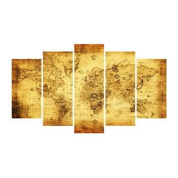 Tablou din mai multe piese Insigne Brecht, 102 x 60 cm poza bonami.ro