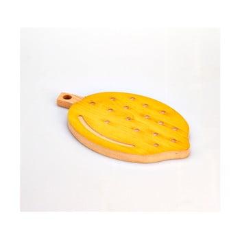 Tocător din lemn de fag Bisetti Lemon, 21 x 34 cm bonami.ro