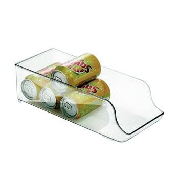 Organizator frigider iDesign Clarity, lungime 35 cm bonami.ro