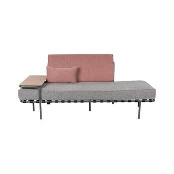 Canapea cu 2 locuri Zuiver Star, gri - roz imagine