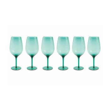 Set 6 pahare Villa d'Este Happy Hour, albastru bonami.ro