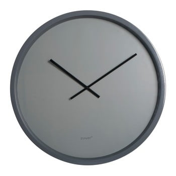 Ceas de perete Zuiver Time Bandit, ø 60 cm, gri imagine