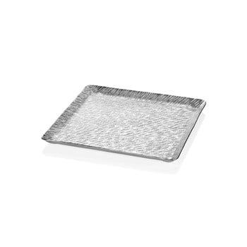 Tavă Mia Uru, 38 x 38 cm, argintiu poza bonami.ro