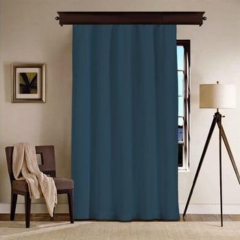 Draperie Curtain Kesso, 140 x 260 cm, albastru închis bonami.ro