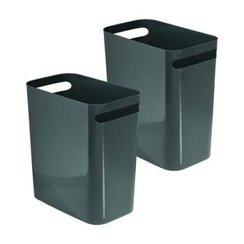 Coș de gunoi iDesign Una, 13,9l, gri închis bonami.ro