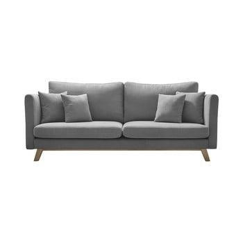 Canapea extensibilă Bobochic Paris Triplo, gri imagine