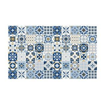 Set 60 autocolante Ambiance Azulejos Nelia, 10 x 10 cm bonami.ro