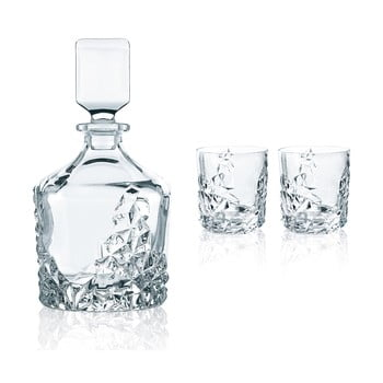 Set pentru whiskey din cristal Nachtmann Sculpture Whisky Set poza bonami.ro