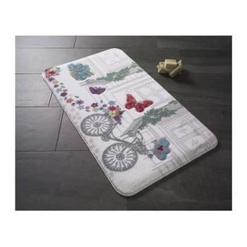 Covoraş de baie Confetti Bathmats Spilled Flowers, 57 x 100 cm poza bonami.ro