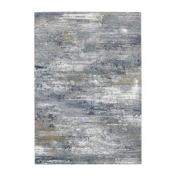Covor Elle Decor Arty Trappes, 120 x 170 cm, gri - albastru imagine