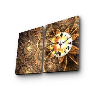 Ceas de perete cu imagine Clock, 60 x 38 cm poza bonami.ro