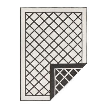 Covor adecvat pentru exterior Bougari Supreme, 230 x 160 cm, negru-crem imagine