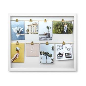 Ramă foto Umbra Clip Line, 44 x 52 cm, alb poza bonami.ro