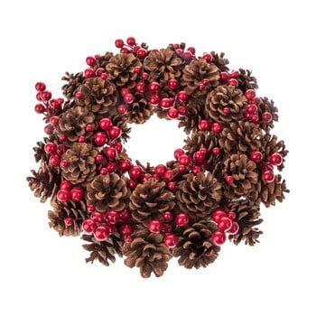 Coroniță Crăciun cu fructe și conuri Dakls Eliska, ø 34 cm bonami.ro